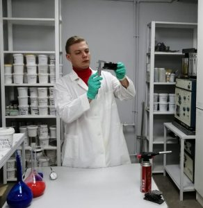 Испытания в лаборатории